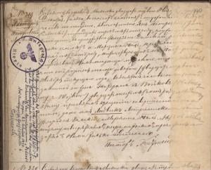 Taufeintrag Ludwik PIOTROWSKI 1876